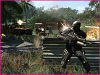 screenshot z gry Crysis