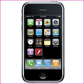 flash na iphone