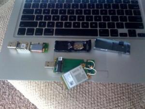 Instalacja modemu VDO w MacBooku Air